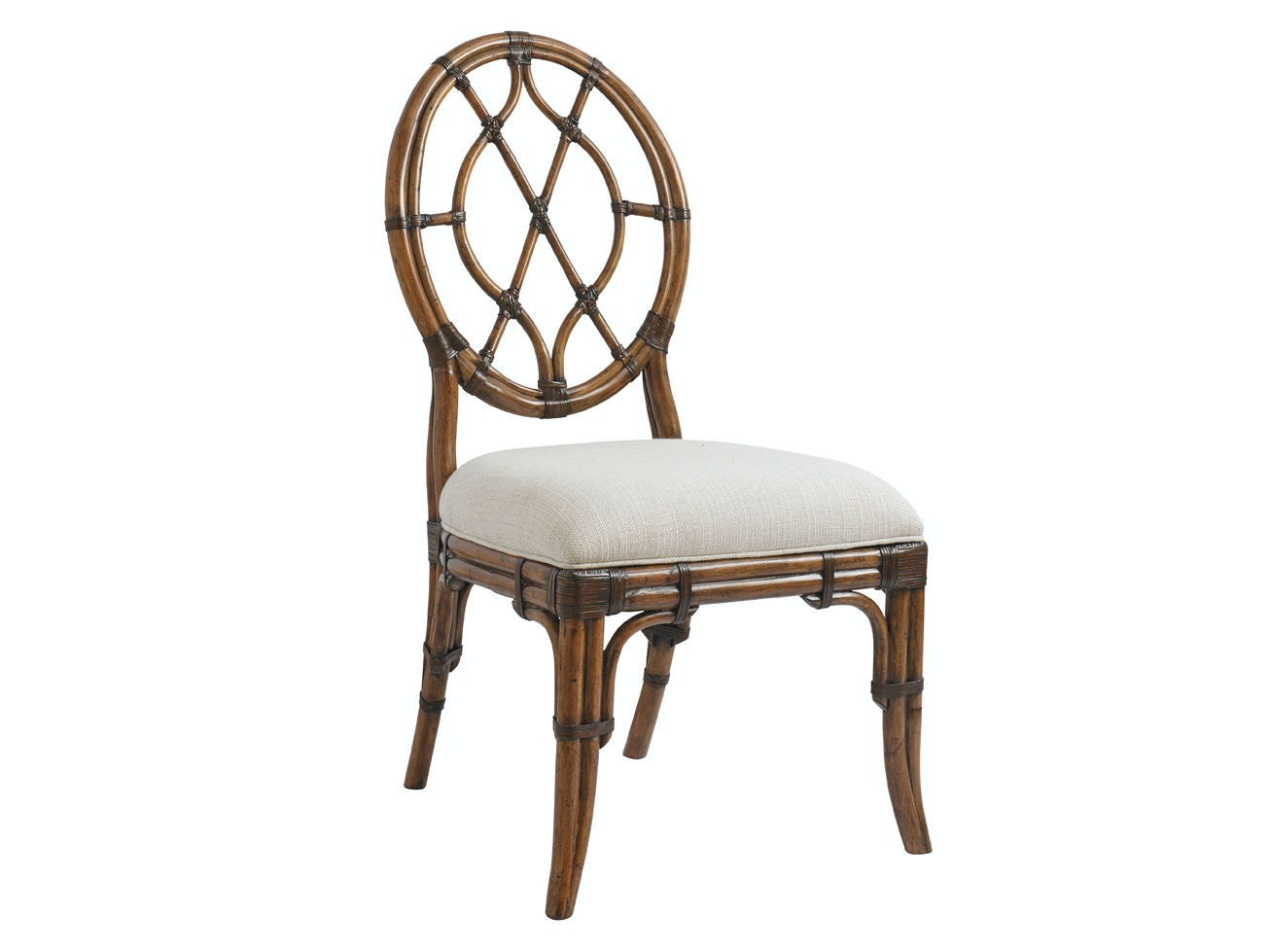 oval back dining room chairs steel chair vip tommy bahama home cedar key side