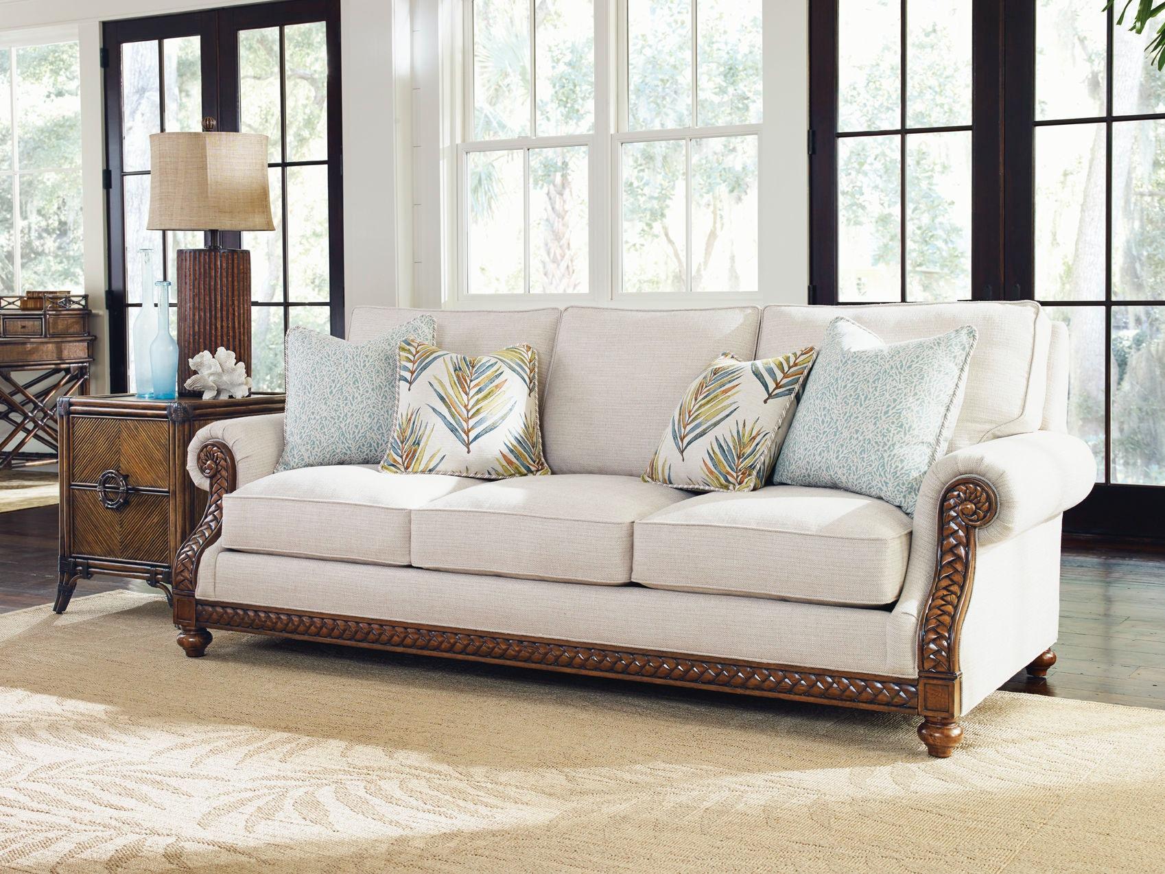 tommy bahama living room nice chairs home shoreline sofa 7844 33 02 bacons