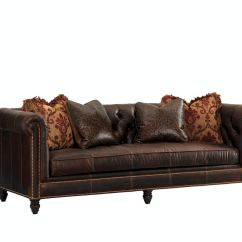 Miramar Leather Sofa Extra Large Covers For Pets Tommy Bahama Home Living Room Manchester Ll7994 33aa