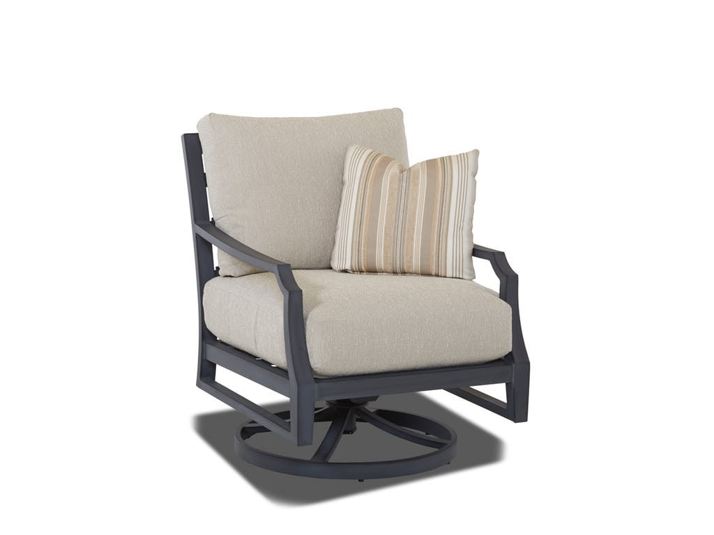 klaussner rocking chair how to sew bean bag outdoor patio mirage swivel w2100 srkc