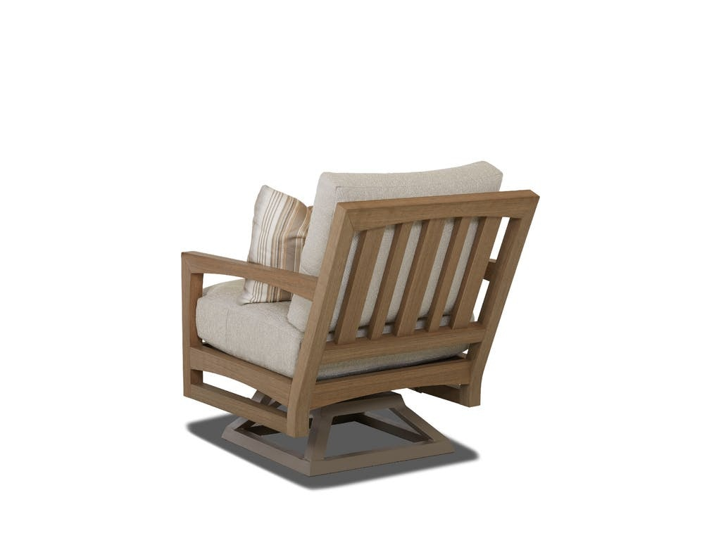 klaussner rocking chair kidkraft farmhouse table and set outdoor patio delray swivel w8502 srkc