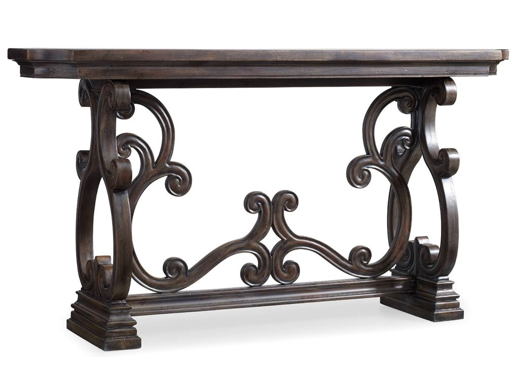star furniture sofa table bed homes r us console tables with storage of texas davalle scroll