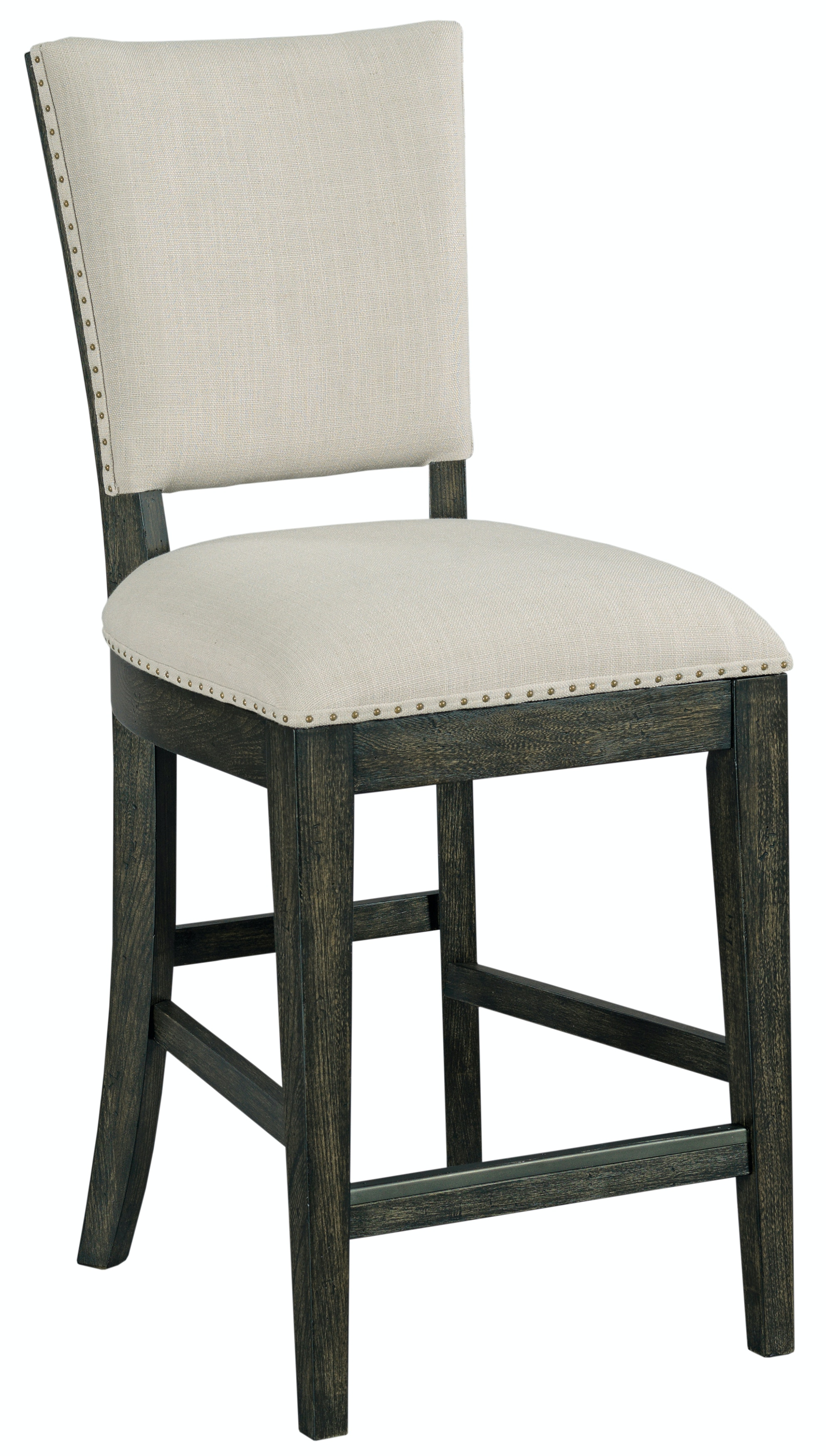 upholstered counter height chairs parker knoll dining room plank road kimler chair charcoal st 488386