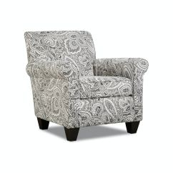 Black And White Paisley Accent Chair Xxl Folding Living Room Chairs Star Furniture Tx Houston Texas Belle