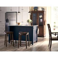 Blue Kitchen Island Countertop Options Trisha Yearwood Miss Kt 45856