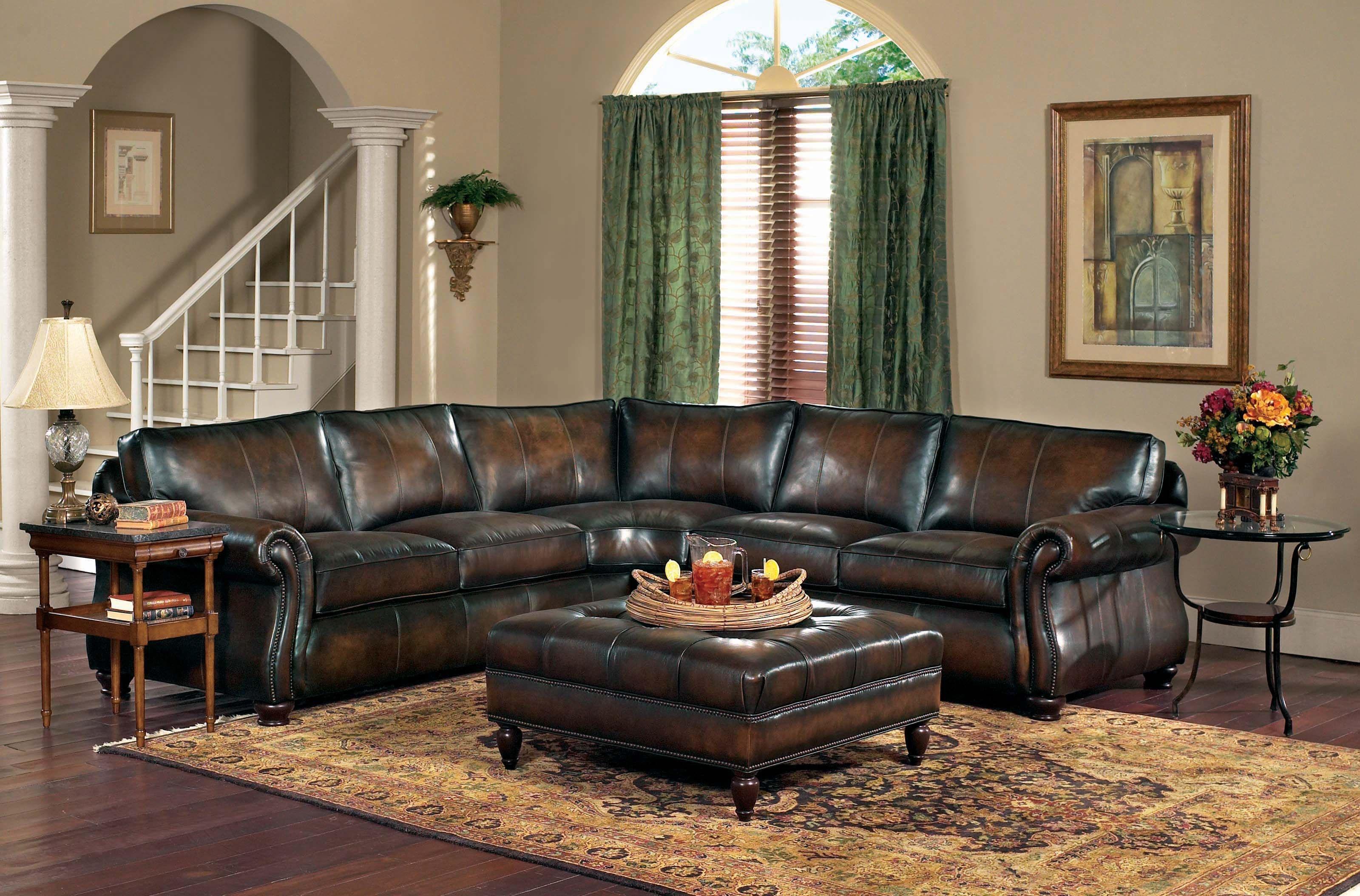 bernhardt london club leather sofa price next brompton living room van gogh 100 2 piece sectional