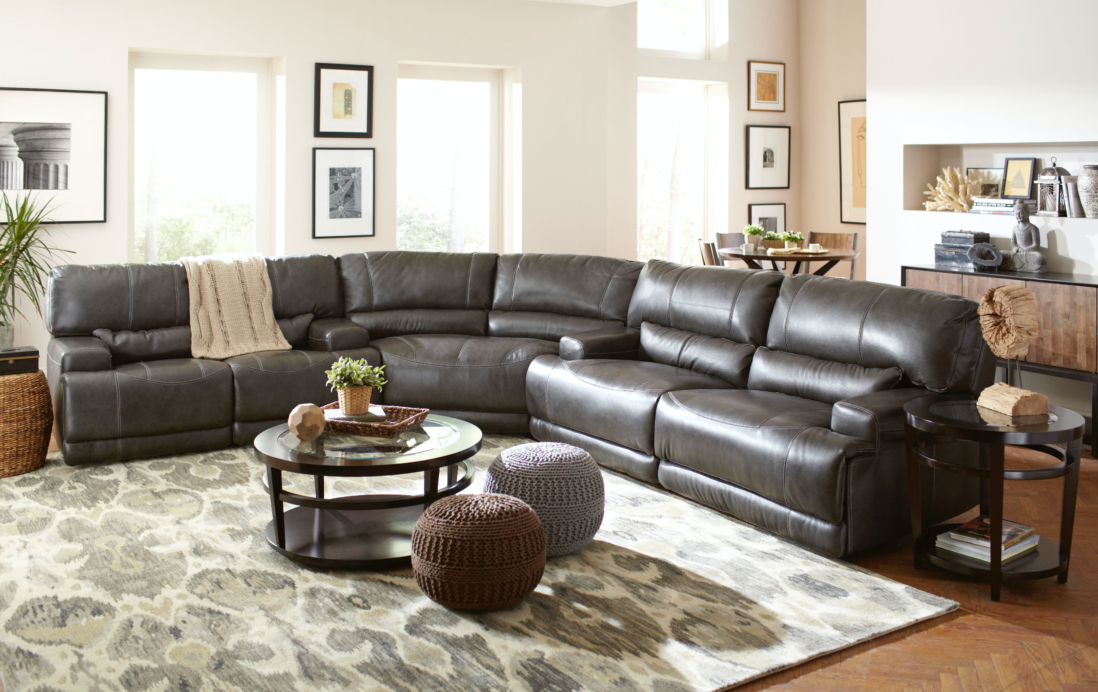 Leather Sofa At Star Furniture In Houston