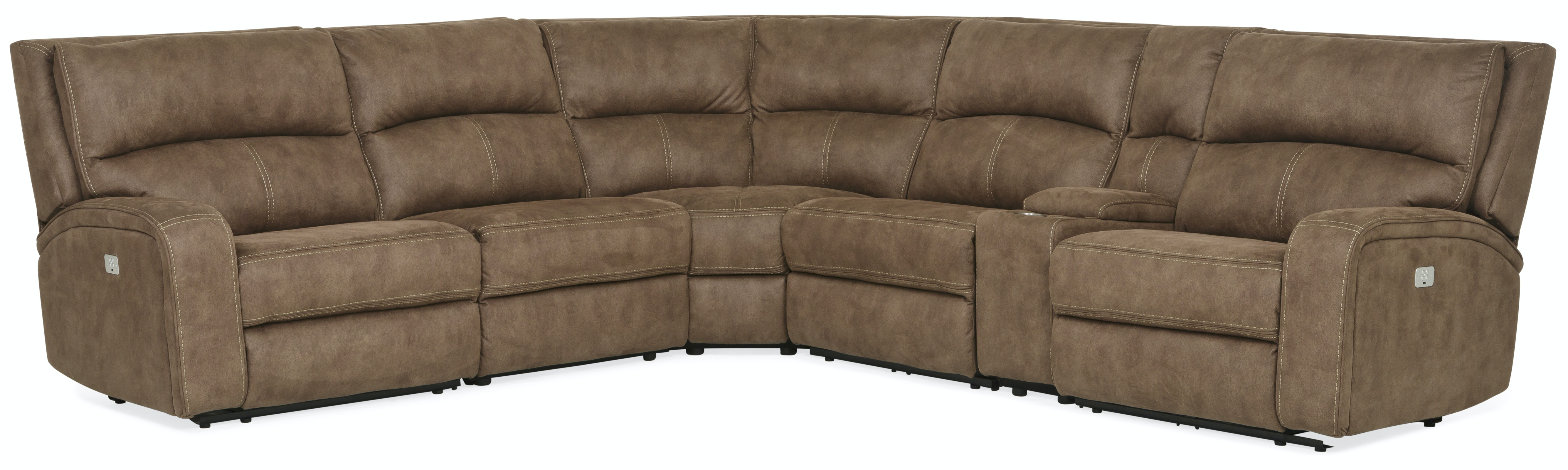justin ii fabric reclining sectional sofa large sleeper living room sectionals leather more star furniture vaquero 6 piece power