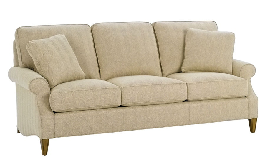 wesley sofa comfortable sofas for small spaces hall living room campbell 1914 84 cherry house