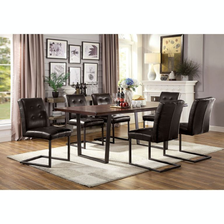 furniture of america dining room 7 pc