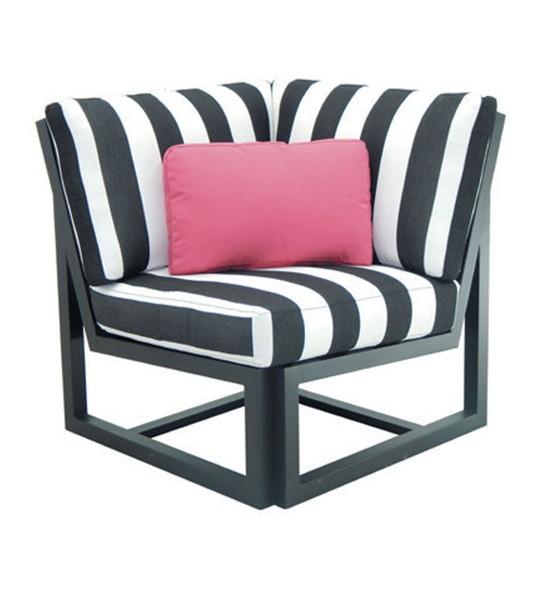 corner lounge chair herman miller aeron task review outdoor patio palm springs sectional by castelle 9b25b