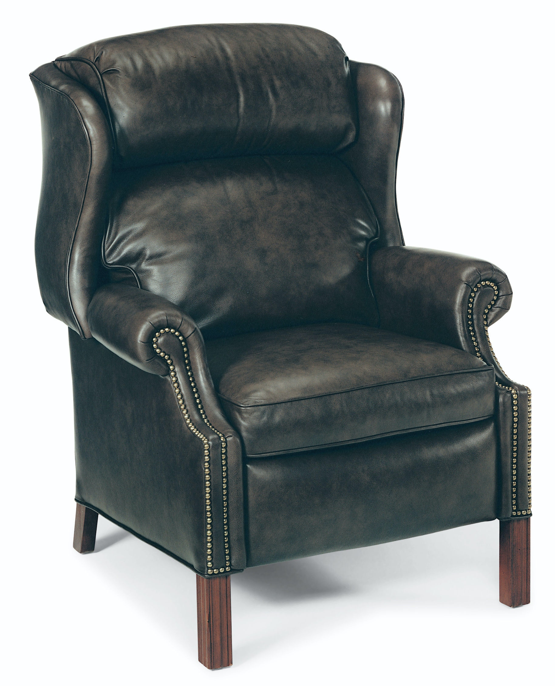wing chair recliner leather anti gravity chairs sam s club bradington young living room chippendale reclining 4114