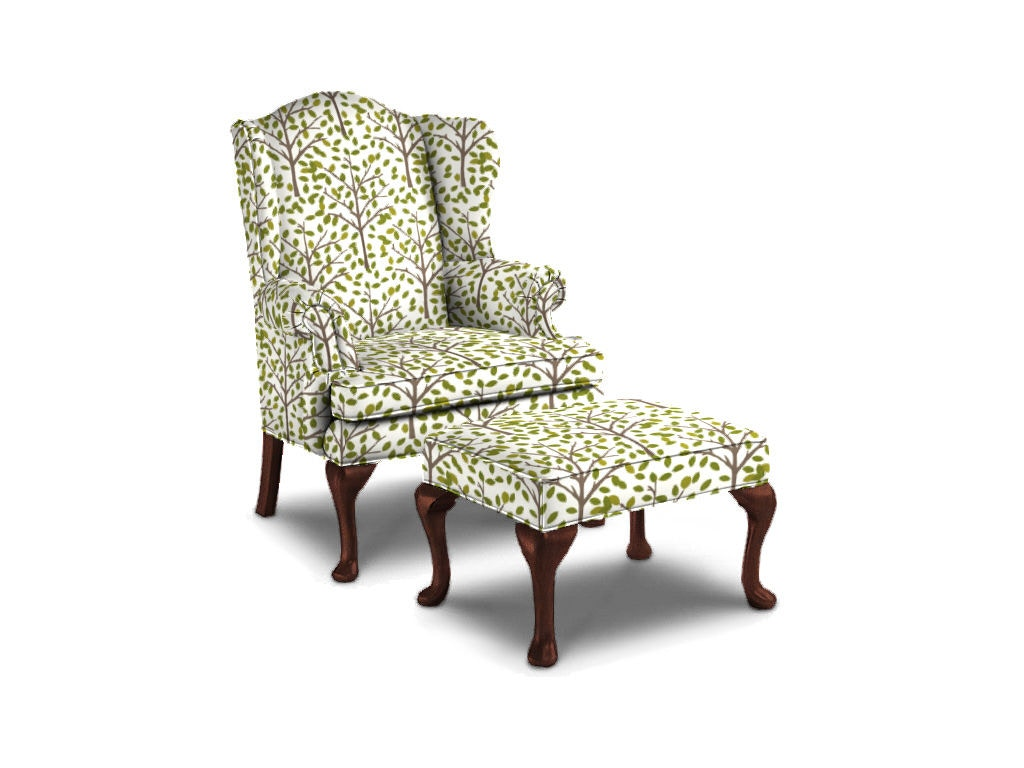 wing chair recliner canada metal stackable chairs sherrill living room 1516 1 mcarthur