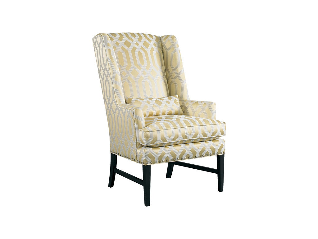 living room wingback chairs wooden hammock chair stand sherrill wing 1690 gibson furniture