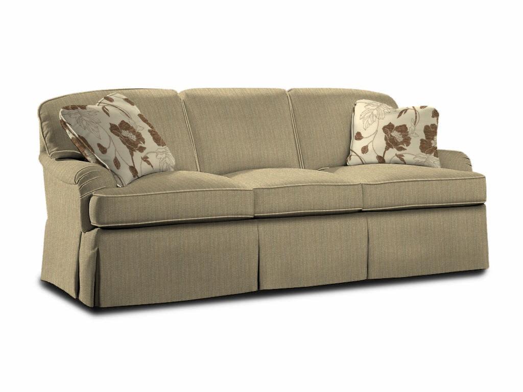 sherrill living room loose pillow back