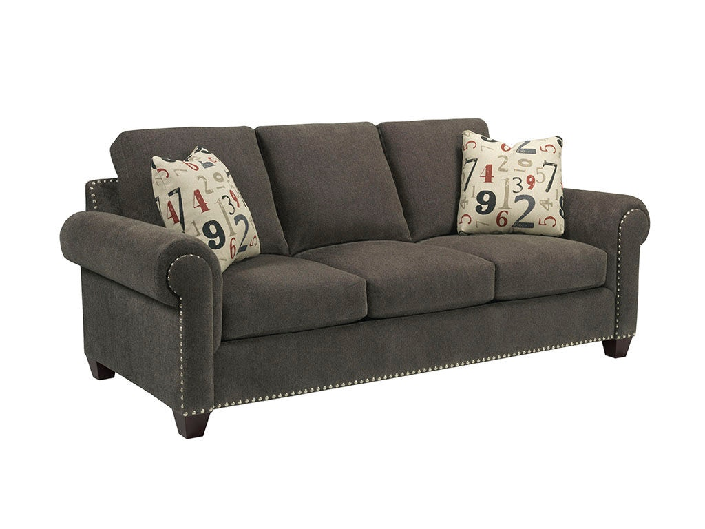 broyhill floral sofa sleeper minneapolis living room rowan 3652 3 warehouse