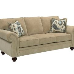 Broyhill Sleeper Sofa 2 Person Living Room Cassandra Queen Goodnight 3688 7
