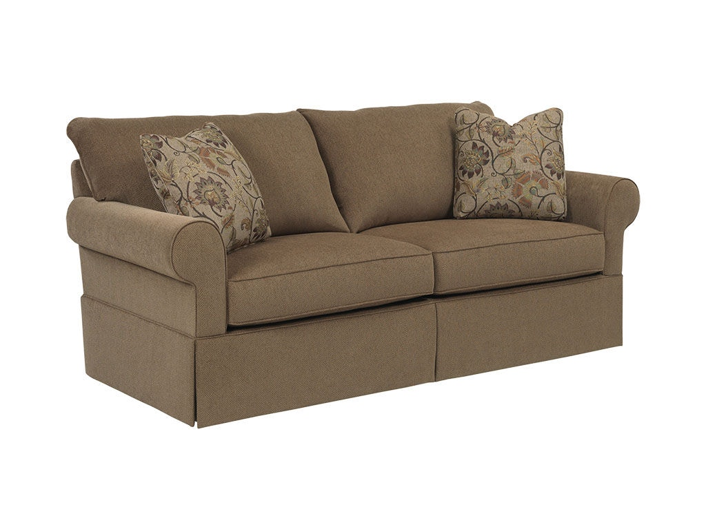 broyhill floral sofa lit sectionnel montreal living room uptown 4235 3 simply discount