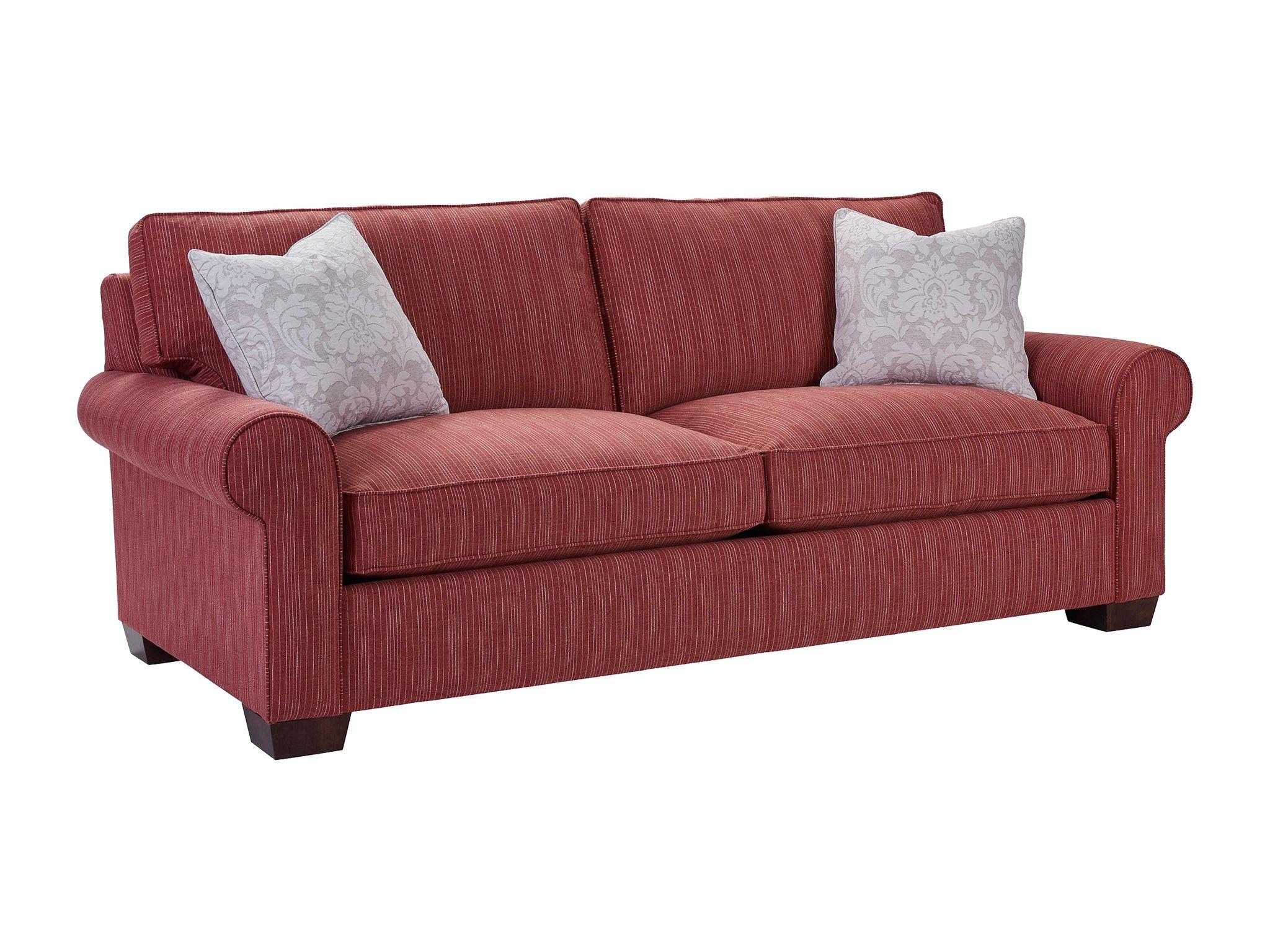 broyhill floral sofa beige color living room isadore 4272 2 waltman