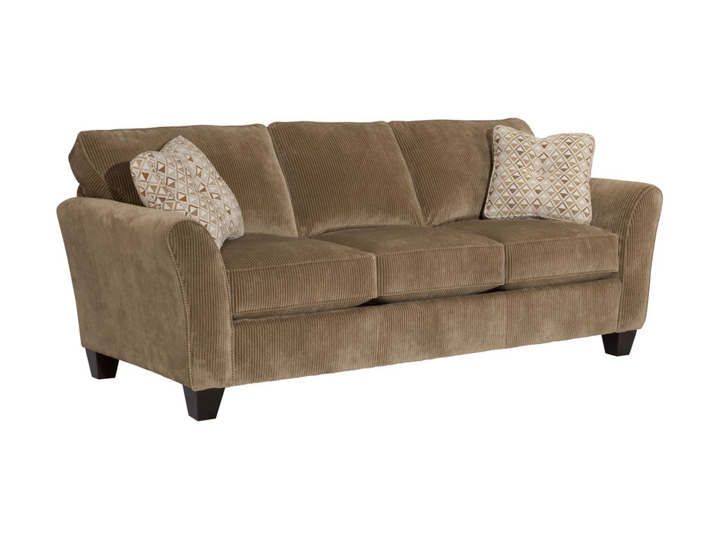 broyhill floral sofa saddle microfiber contemporary reclining sectional living room maddie 6517 3 warehouse