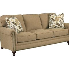 Broyhill Floral Sofa Chez Long Bed Living Room Harrison 6751 3 Warehouse