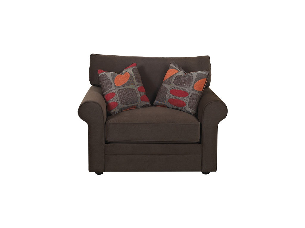 Comfiest Chair Klaussner Living Room Comfy Chair 36300 C Trivett 39s