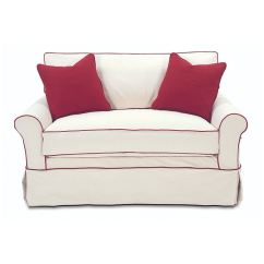 Twin Sleeper Sofa Slipcover Can I Paint My Leather Ckd Living Room Somerset W 7679t