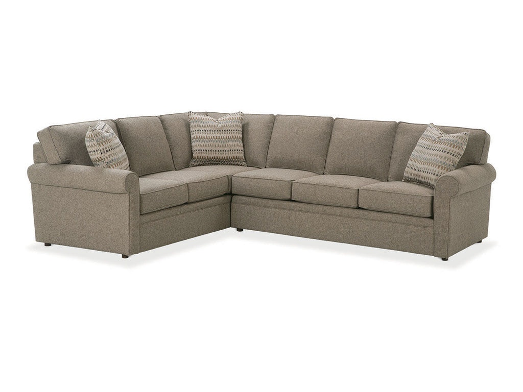 tyson sectional sofa apartment sofas leather rowe living room brentwood 9252 sect hamilton