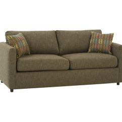 Sofa Bed Dallas Corner With Storage Leather Rowe Living Room Stockdale Two Cushion Queen