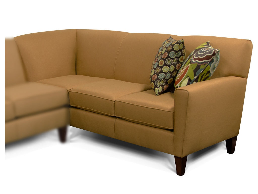 abbie right chaise sectional sofa with large cushions by england slim living room collegedale arm facing corner
