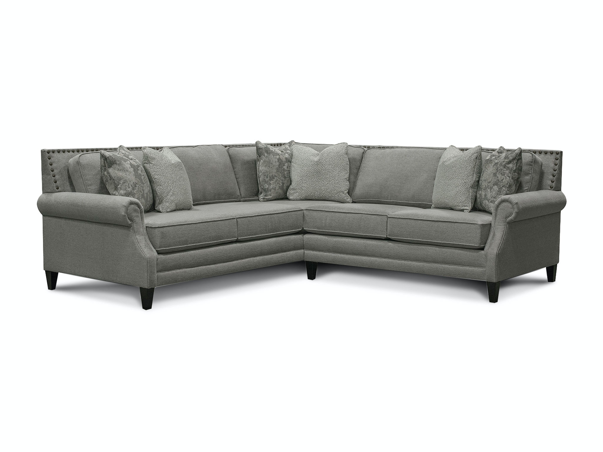 palmer sofa ashley furniture morandi mocha england living room sectional with nails 7l00n sect