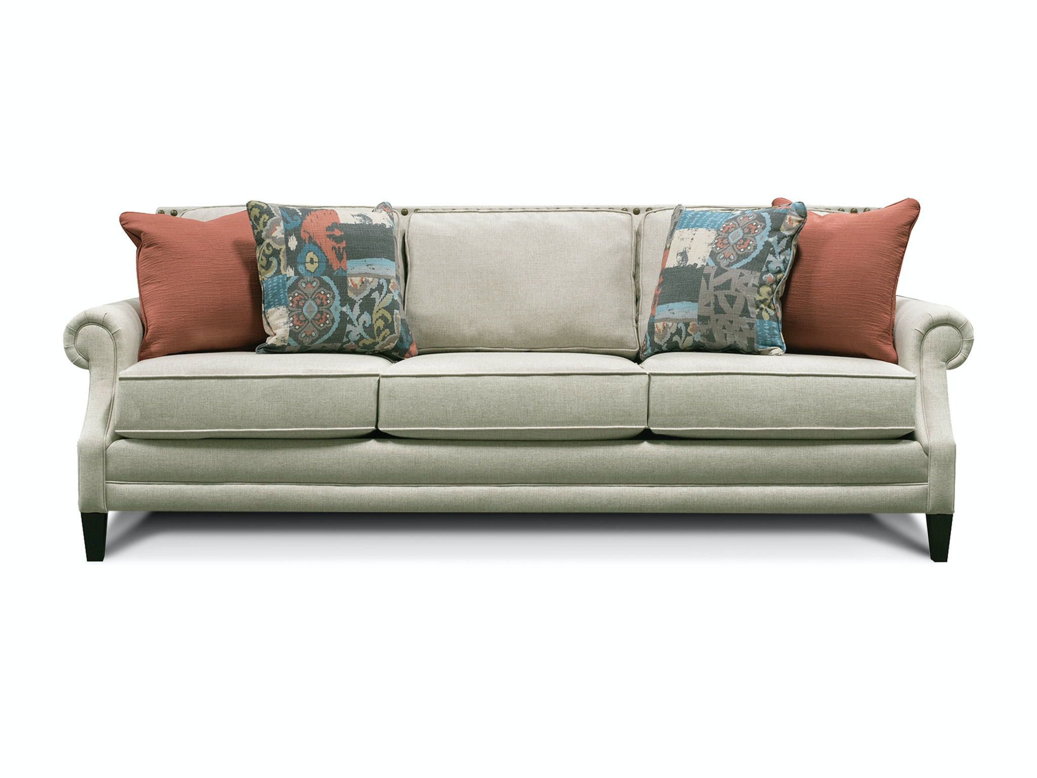 palmer sofa large grey cushions england living room with nails 7l05n furniture