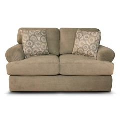 Abbie Right Chaise Sectional Sofa With Large Cushions By England Reclining Drink Holder Living Room Loveseat 8256