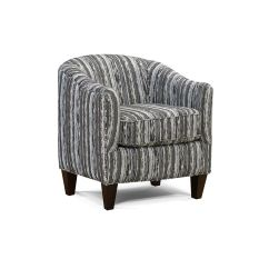Tub Fabric Accent Chair Patchwork Design Brands England Living Room Keely 8534 Furniture New