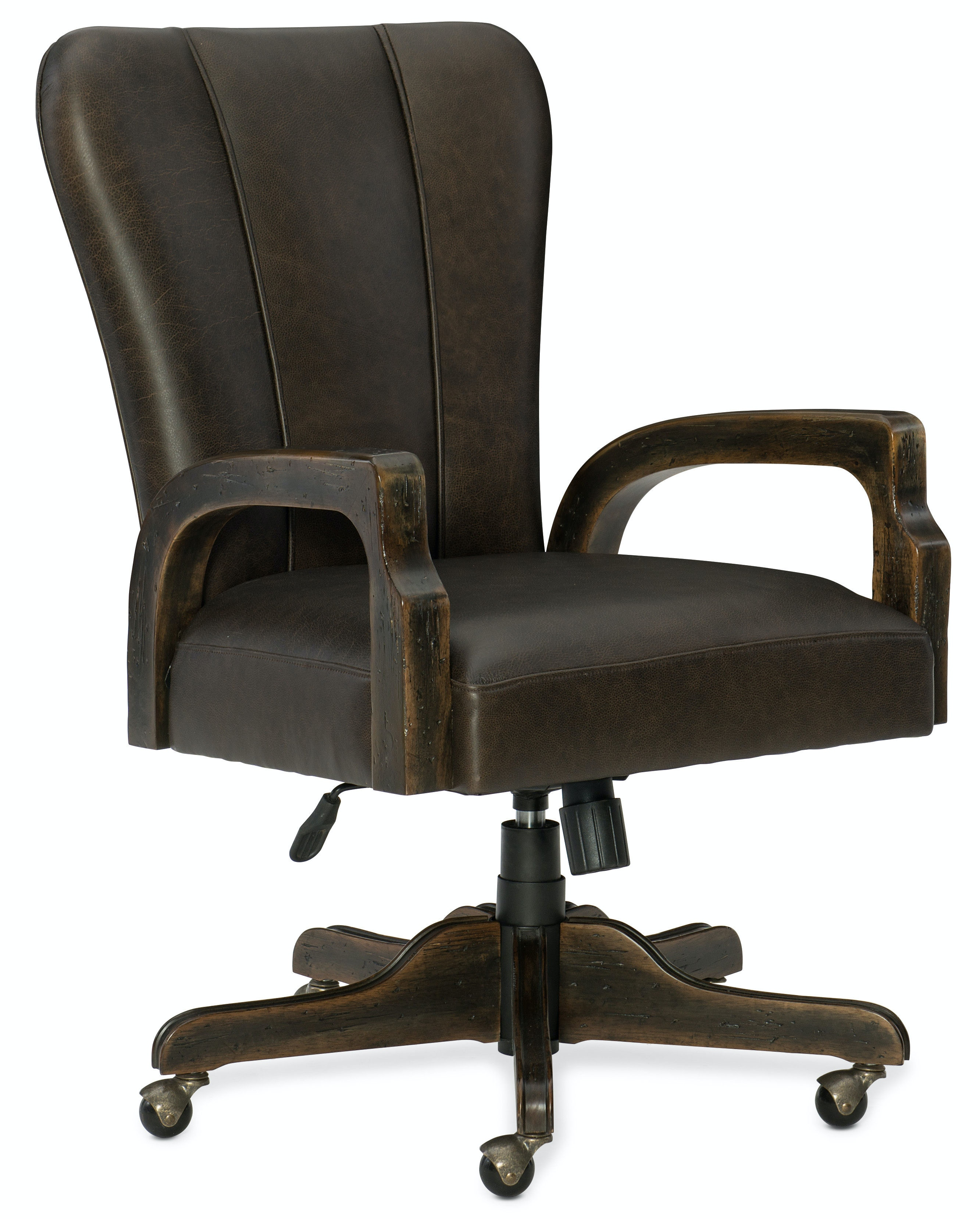 hooker desk chair hanging ikea uk furniture home office crafted 1654 30220