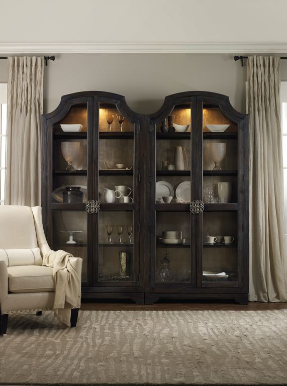 Hooker Furniture Dining Room Sanctuary Glass Bunching
