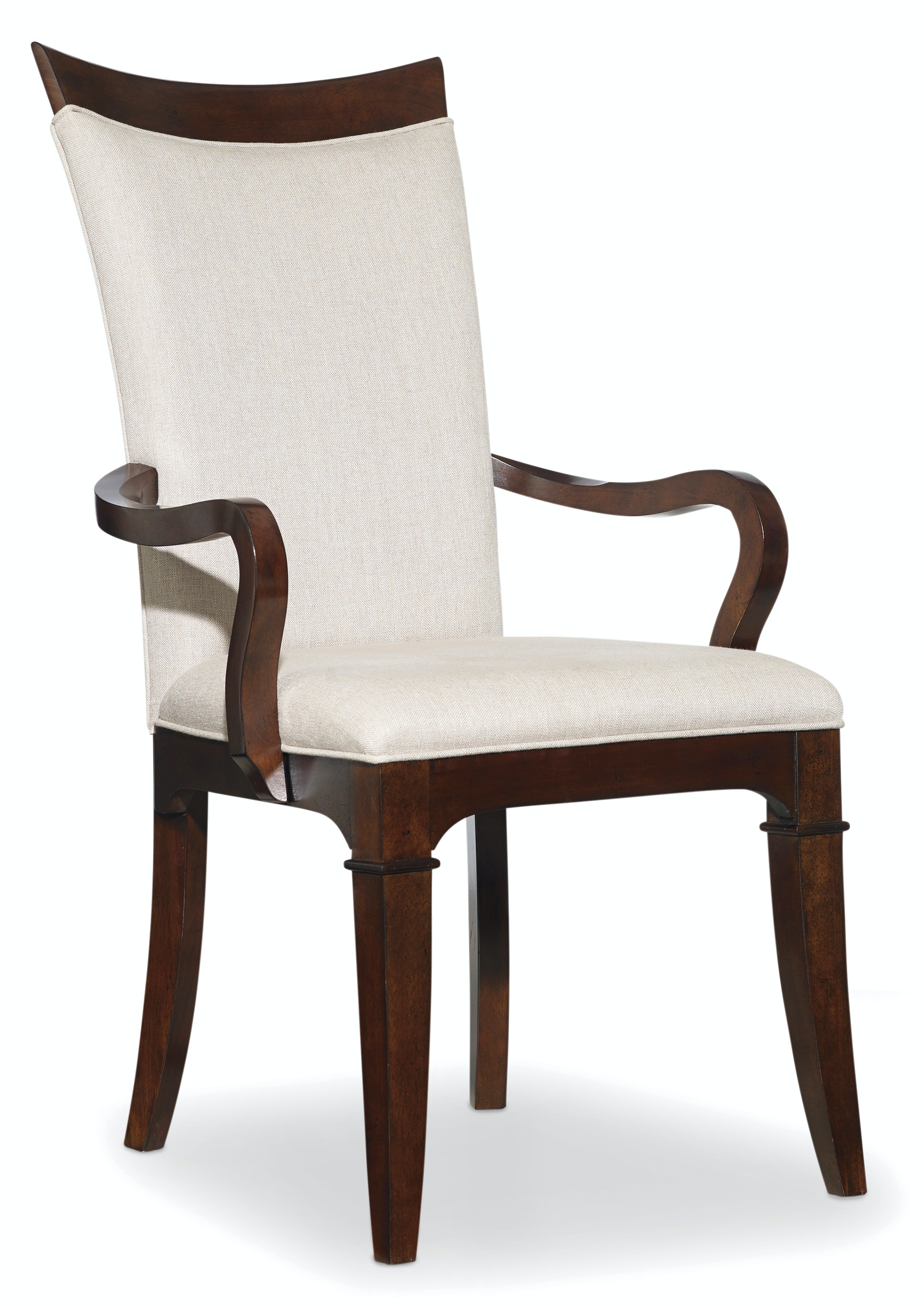 Upholstered Arm Chairs Hooker Furniture Dining Room Palisade Upholstered Arm