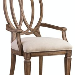 Armed Dining Chairs Gravity Chair Target Hooker Furniture Room Solana Wood Back Arm