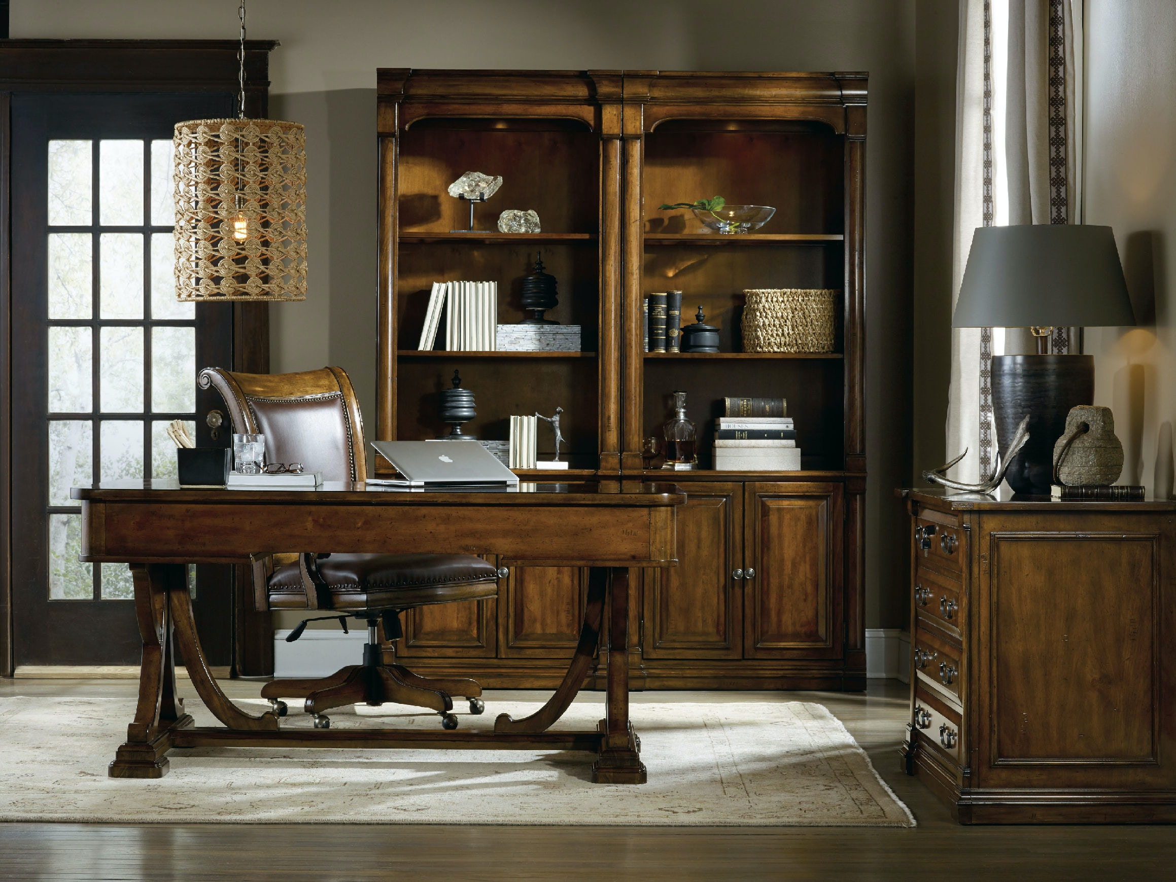 hooker desk chair lumbar support furniture home office tynecastle tilt swivel