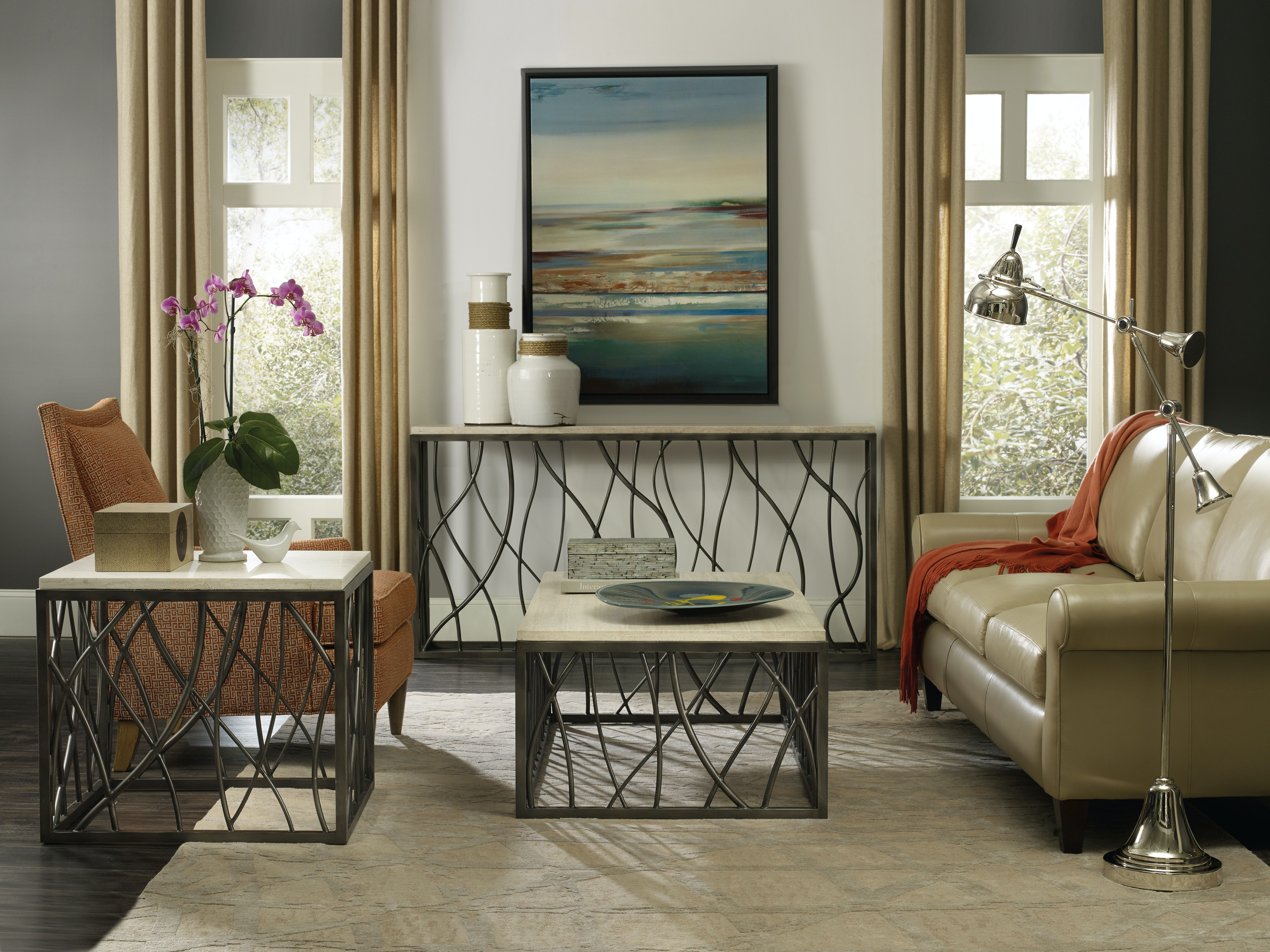 Hooker Furniture Living Room Console Table 537380151