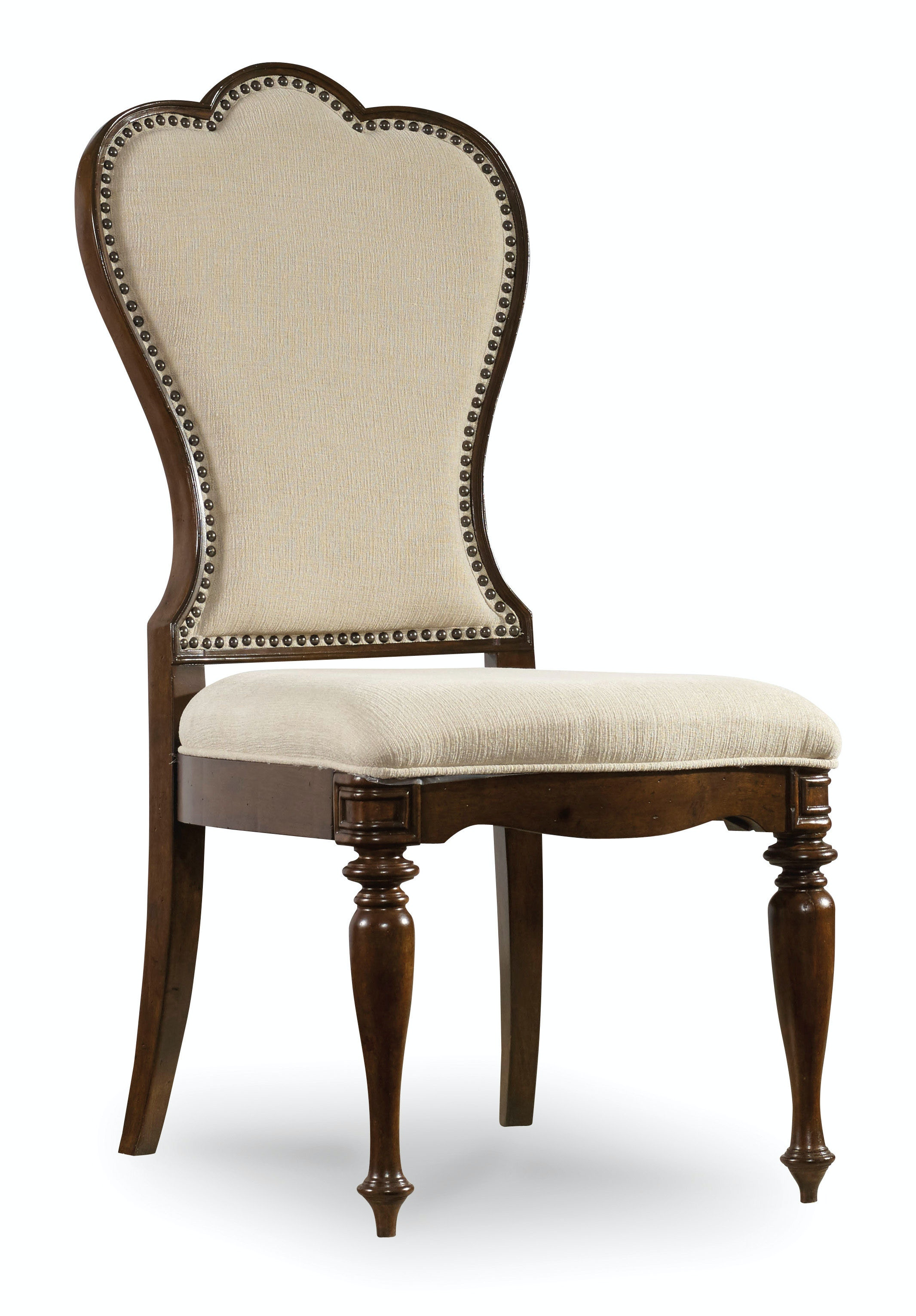 Upholstered Dining Chairs Hooker Furniture Dining Room Leesburg Upholstered Side