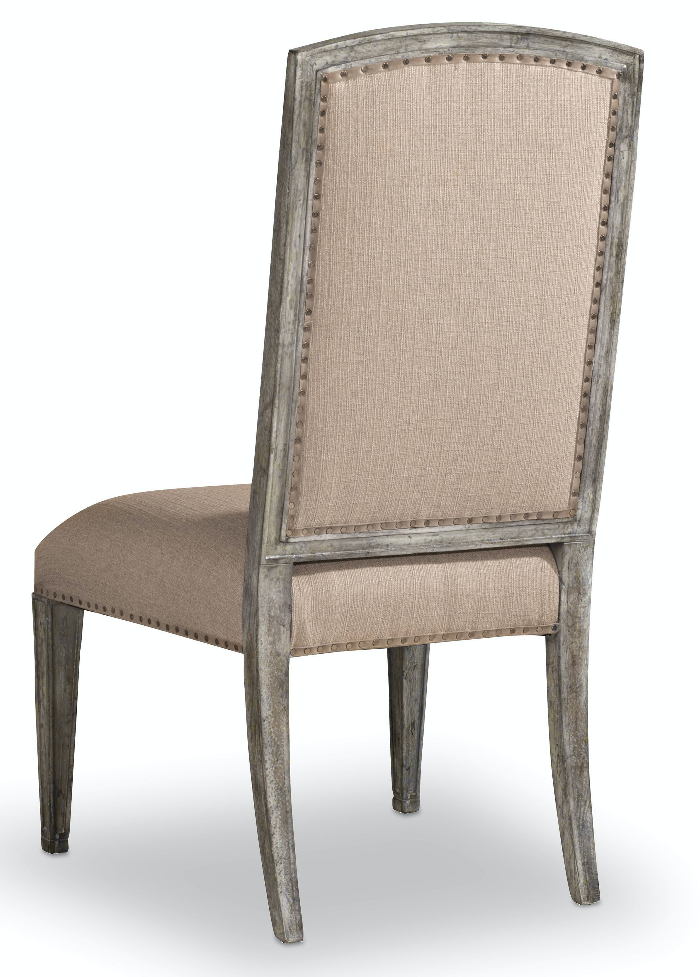 upholstered dining chairs canada nailhead hooker furniture room true vintage side