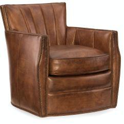 Ab Swivel Chair Cushions Hooker Furniture Living Room Carson Club