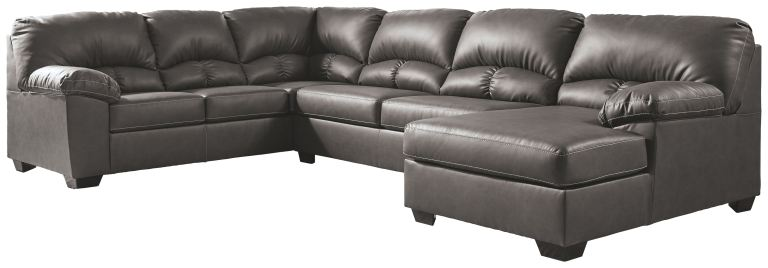 aberton 3 piece sectional with chaise