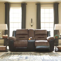 Living Room Loveseats Best Colors For 2018 Furniture Kingdom Gainesville Fl Signature Design By Ashley Dbl Rec Loveseat W Console 2910194