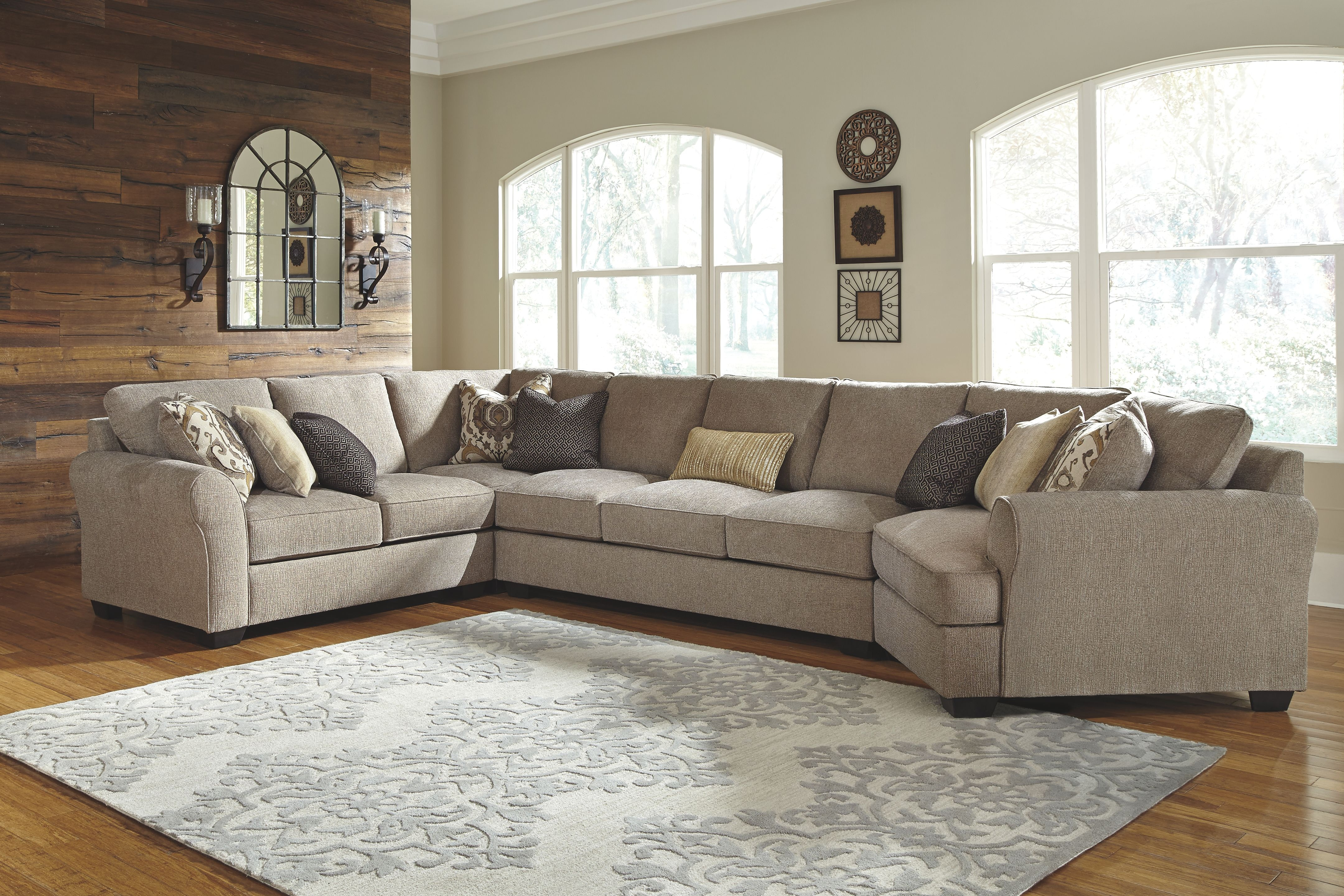 ashley living room wayfair sets signature design by sectional 39102xx dewey at furniture