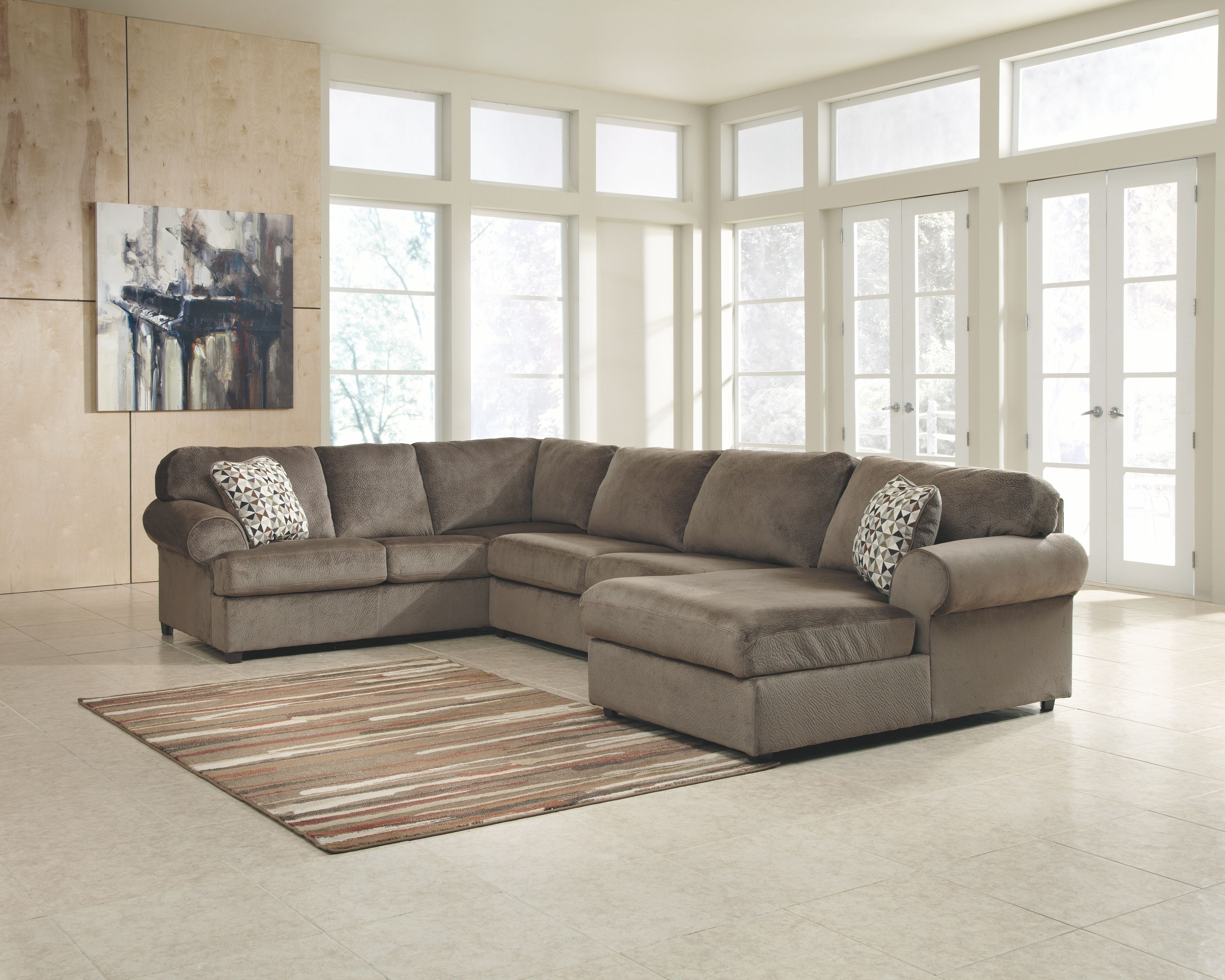 discontinued ashley sofa tables monarch reclaimed look tempered glass table signature design by living room laf 3980266