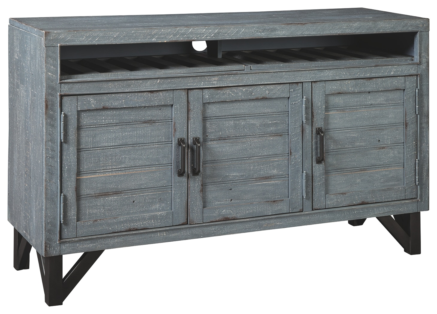 Signature Design By Ashley Dining Room Jainworth Accent Cabinet A4000300 Markson S Furniture