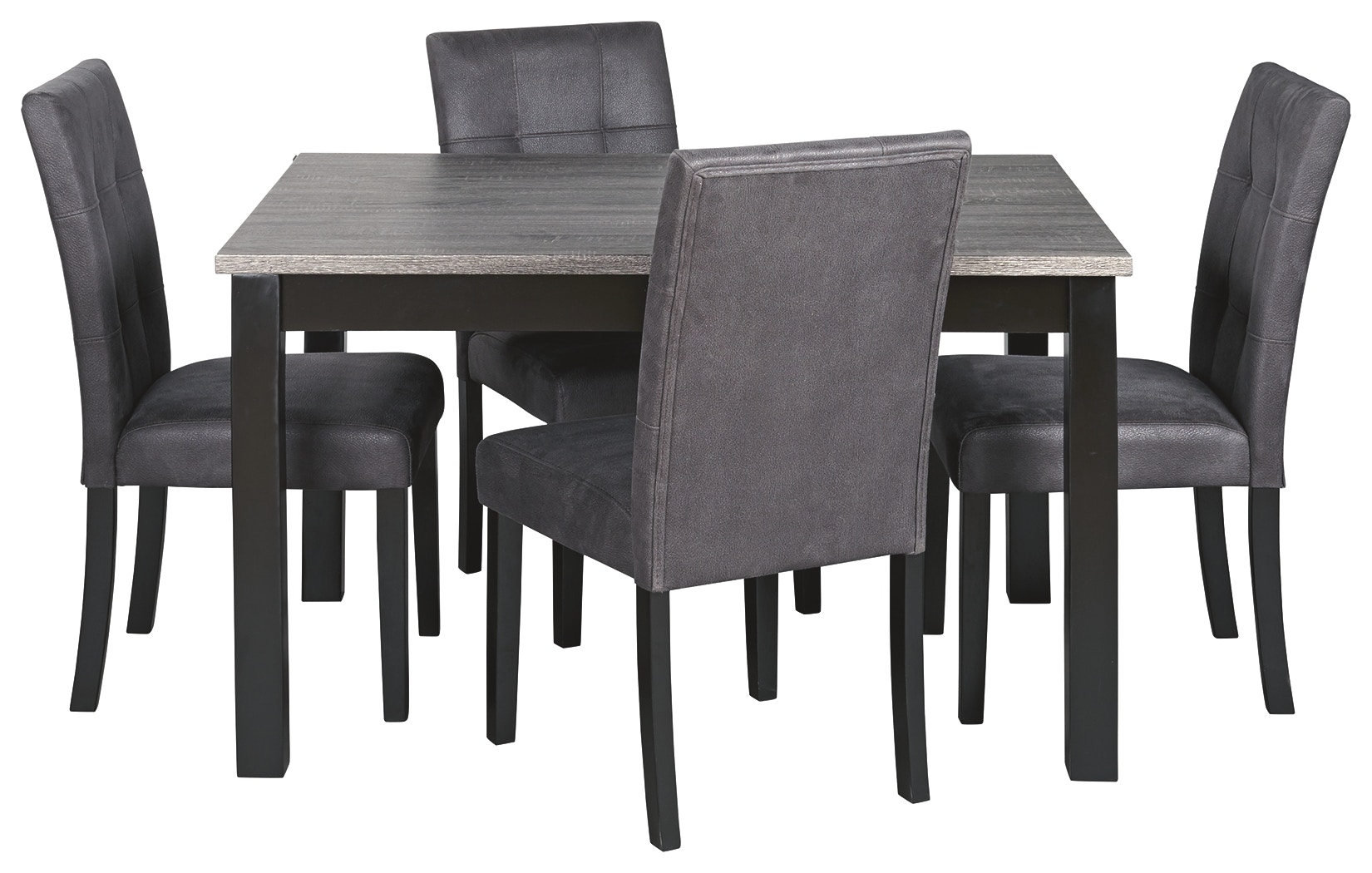 Signature Design By Ashley Garvine Dining Room Table And Chairs Set Of 5 D161 225 Markson S