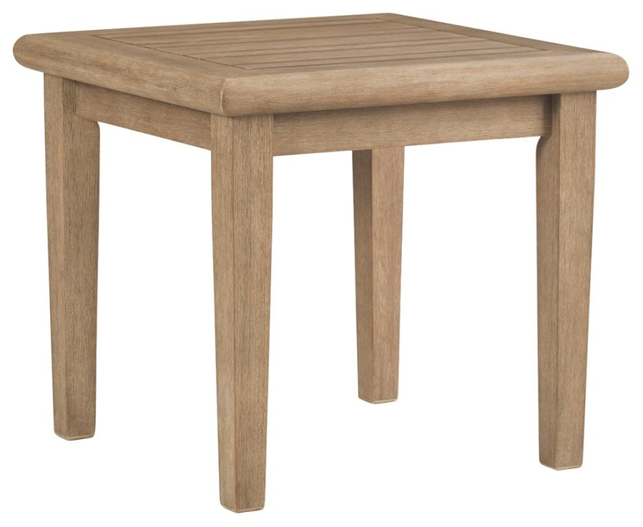 signature design by ashley outdoor patio gerianne outdoor end table p805 702 489365425